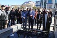 مراسم بدرقه کاروان دانشجويي راهيان نور برگزار گرديد