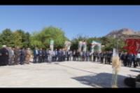 مراسم گراميداشت هفته دفاع مقدس و عطر افشاني مزار شهدا با حضور معاون وزير علوم در دانشگاه ايلام برگزار گرديد