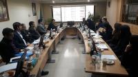 حضور دکتر سلاورزي دبير منطقه پنج در نشست دبيران برنامه، بودجه و تشکيلات مناطق دهگانه کشور