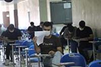 بخشي از آزمون کارشناسي ارشد 1399 در دانشگاه ايلام برگزار گرديد