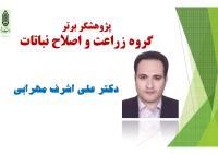 پژوهشگران برتر گروههاي آموزشي دانشکده کشاورزي